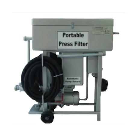 Przenośny filtr płytkowy do diesla i biodiesla