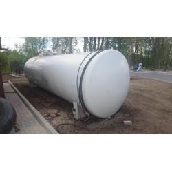 Zbiornik stalowy, używany o poj. 20 m3 - Industry Diesel&Oil