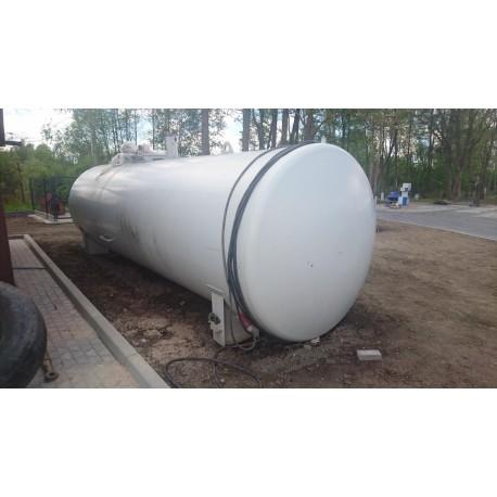 Zbiornik stalowy, używany o poj. 20 m3