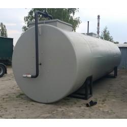 Zbiornik stalowy, używany o poj. 50 m3 - Industry Diesel&Oil
